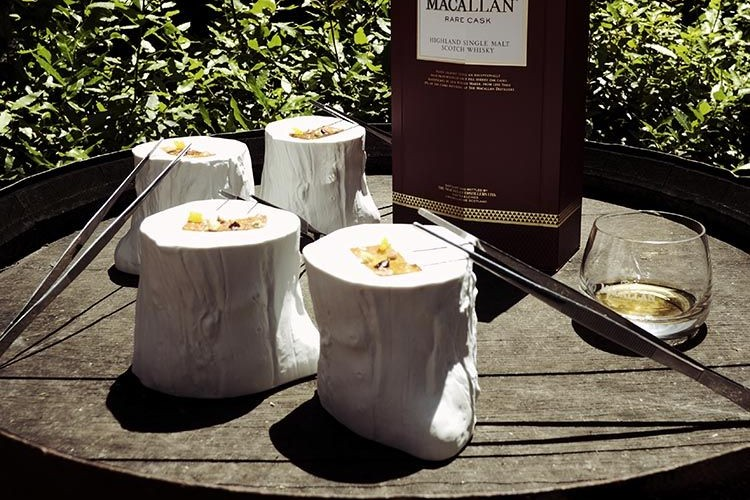 Madera comestible. Foto The Macallan