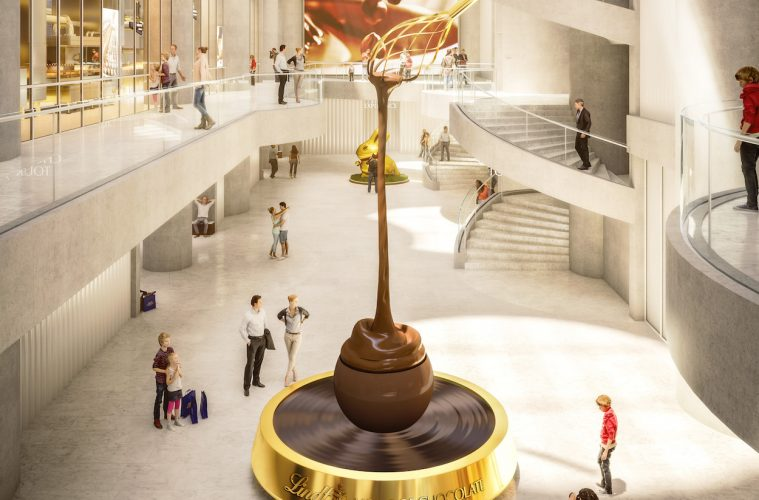 Roger Federer inaugura la Lindt Home of Chocolate en Suiza