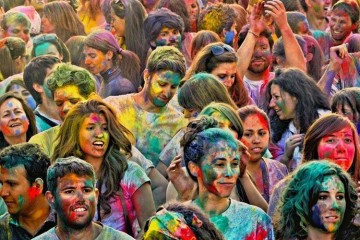 Holi Party & Rang Jam en MULAFEST 2016