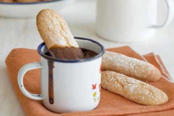 Melindros con chocolate